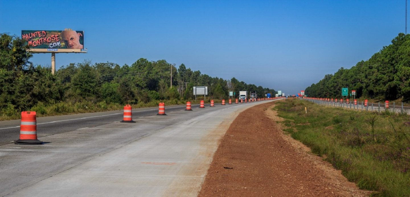 Photos of I-16 Laurens County project that McCarthy Improvement was involved in