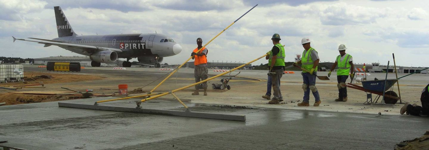 McCarthy Improvement's expertise in aviation construction extends more than 50 years