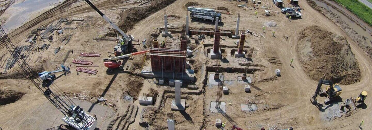 Industrial Construction with McCarthy Improvement