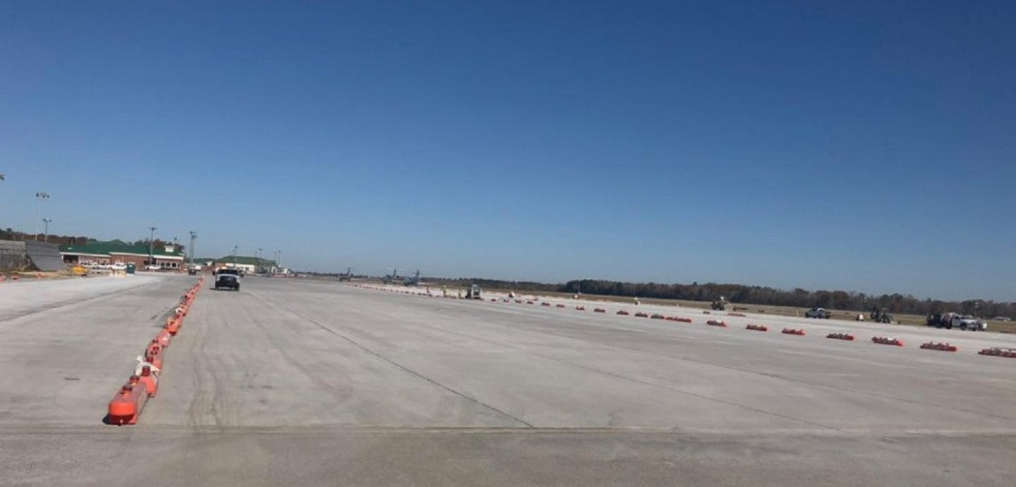 The Augusta Airport Taxiway project was completed by McCarthy Improvement