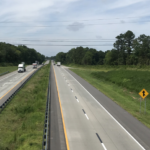 ACPA NC I-85 Unbonded Overlay Project Photo of the Interstate