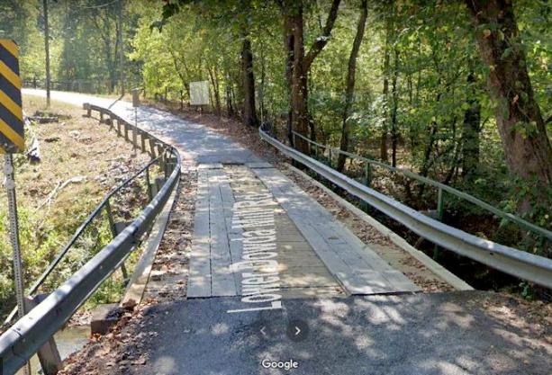 Lower Dowda Bridge in Atlanta, GA